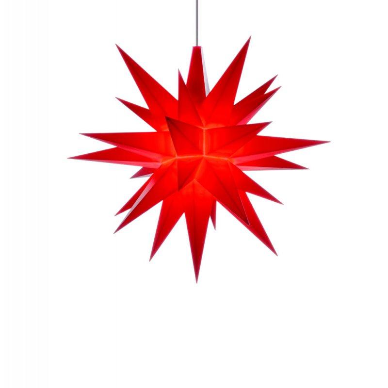 Herrnhuter Weihnachtsstern rot aus Kunststoff Ø13cm