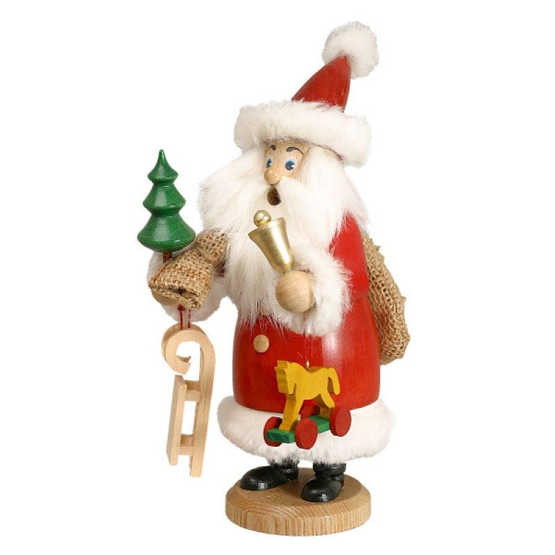 dwu r uchermann weihnachtsmann rot mit fell und geschenke. Black Bedroom Furniture Sets. Home Design Ideas