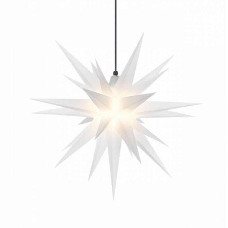 herrnhuter weihnachtsstern a7 opal aus kunststoff mit beleuchtung erzgebirgische volkskunst. Black Bedroom Furniture Sets. Home Design Ideas