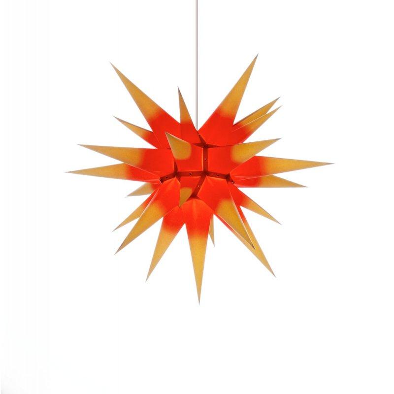 herrnhuter weihnachtsstern i6 gelb rot erzgebirgische volkskunst das original. Black Bedroom Furniture Sets. Home Design Ideas