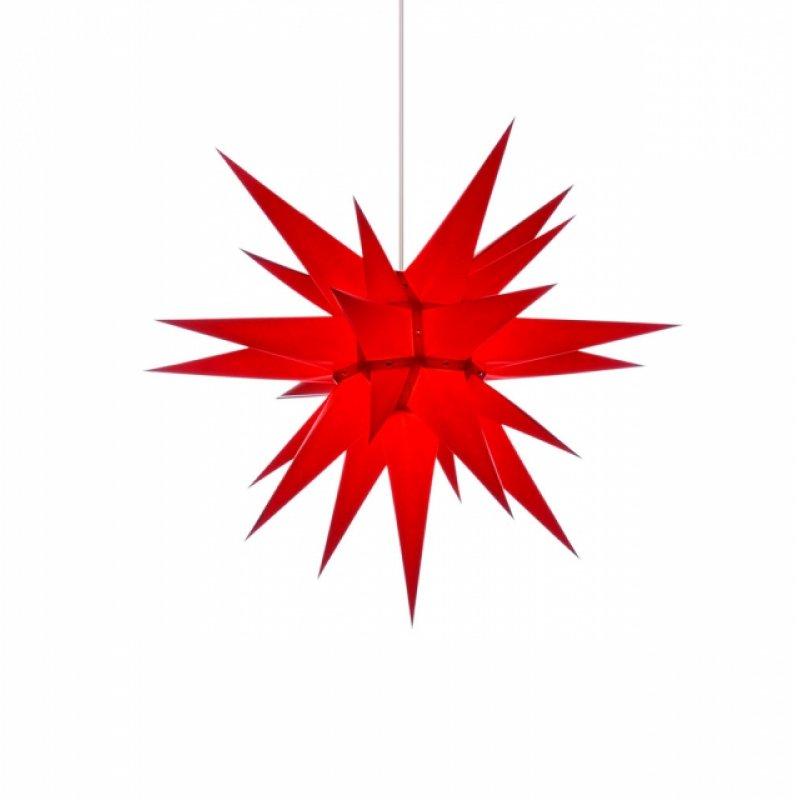 herrnhuter weihnachtsstern i6 rot mit beleuchtung erzgebirgische volkskunst das original. Black Bedroom Furniture Sets. Home Design Ideas