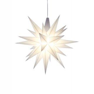 herrnhuter weihnachtsstern wei aus kunststoff 13cm. Black Bedroom Furniture Sets. Home Design Ideas