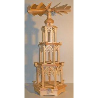 Bergmann mit Kerzen 3,5 cm Erzgebirge Seiffen NEU Deko Miniaturen einzeln